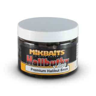Halibutky v dipu 150ml - Premium Halibut 8mm